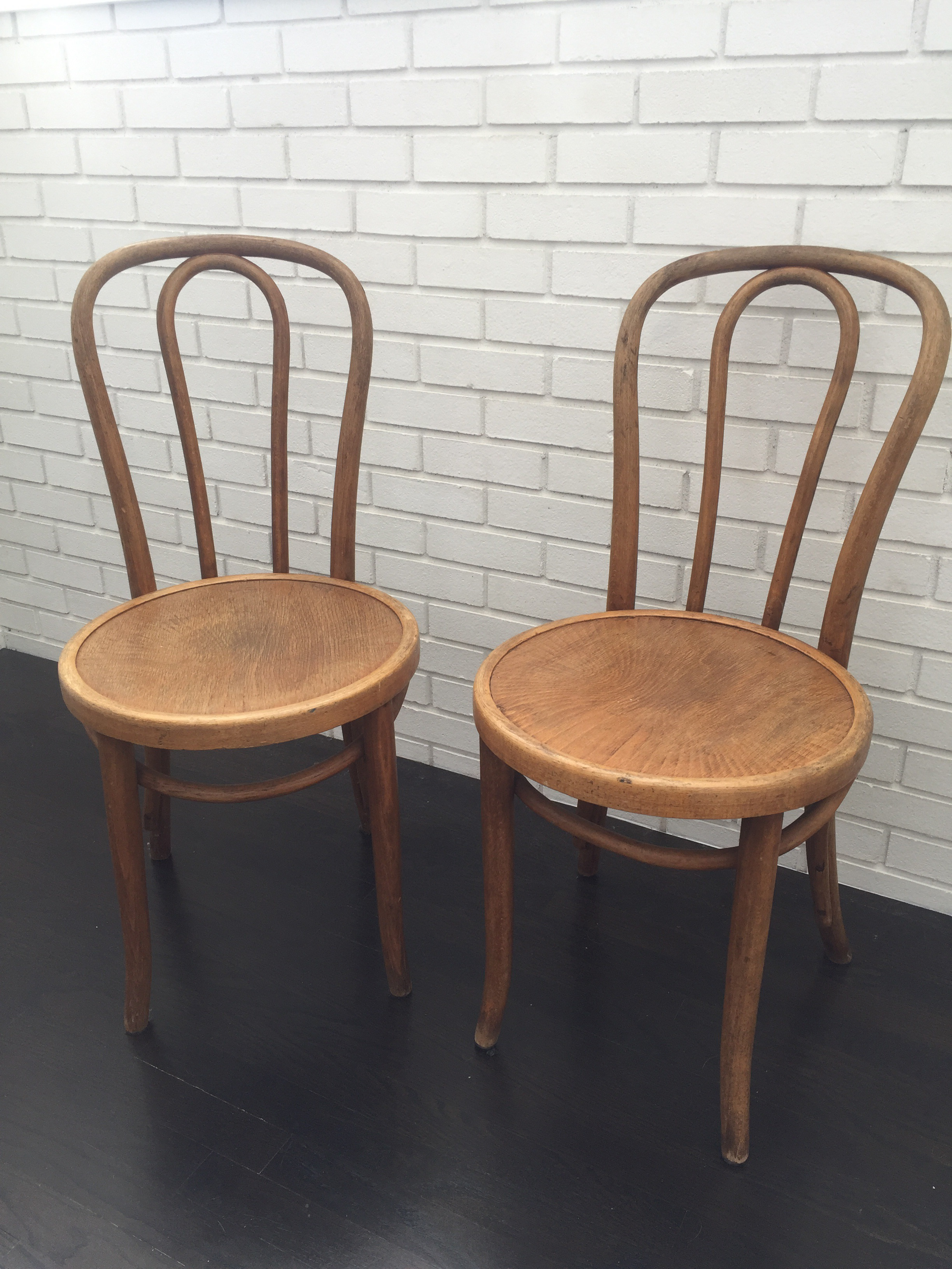 Antique Thonet No. 18 Bentwood Chairs   A Pair   Image 2 Of 7