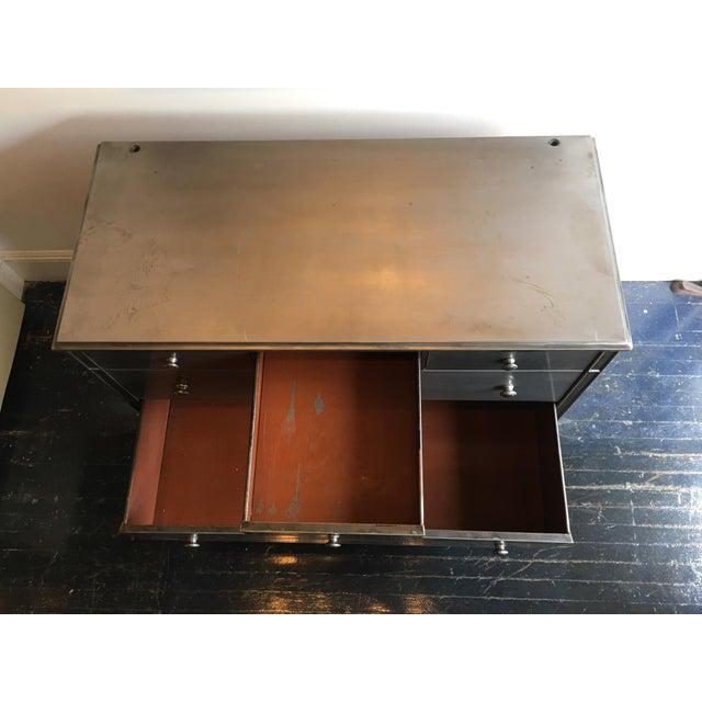Stripped Metal Dresser - Image 4 of 7