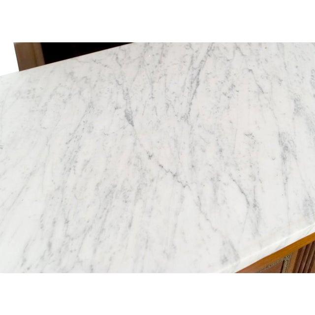 Maison Jansen Marble Top & Mahogany Commode - Image 7 of 9
