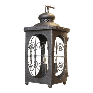 Antique Spanish Colonial Lantern For Sale