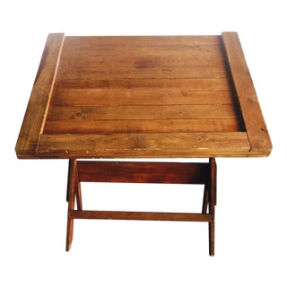 Antique Draftsman Table