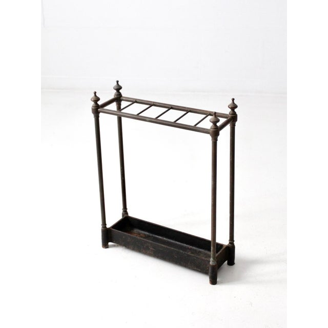 Antique Fireplace or Umbrella Stand For Sale - Image 4 of 10