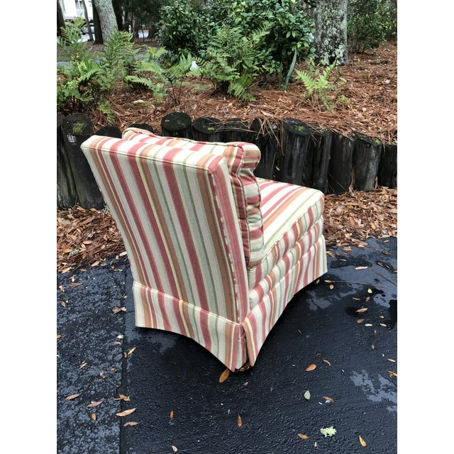 2000 - 2009 Modern Vanguard Furniture Down Filled Slipper Chair For Sale - Image 5 of 8