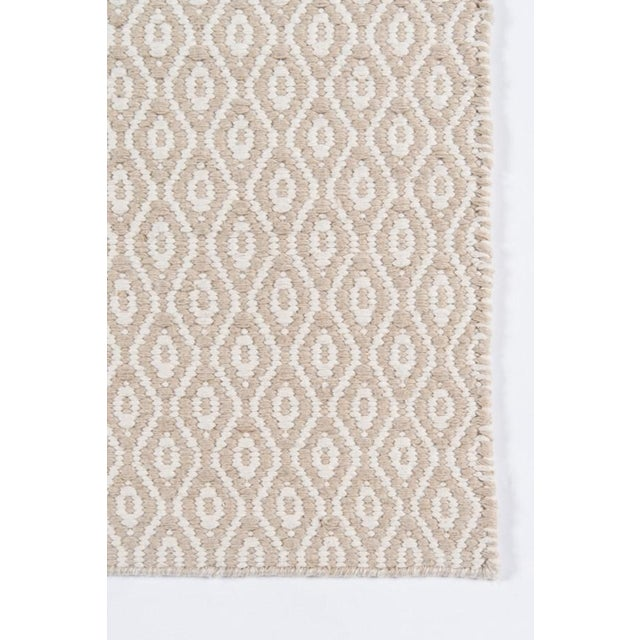 "Contemporary Erin Gates Newton Davis Beige Hand Woven Recycled Plastic Runner 2'3"" X 8' For Sale - Image 3 of 5"
