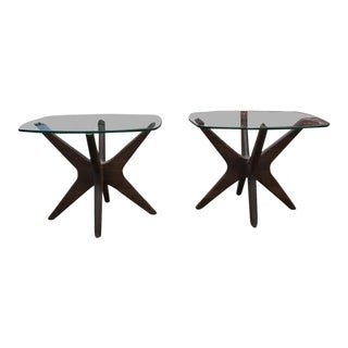 1960s Mid-Century Modern Adrian Pearsall Jacks Tables - a Pair For Sale
