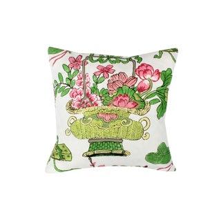 Custom-Made Designer Schumacher Pillow For Sale