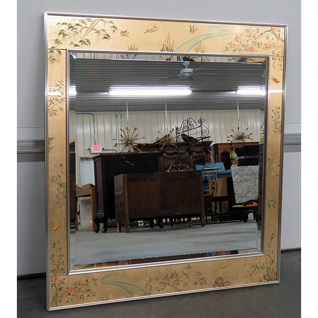 LaBarge Asian Inspired Mirror For Sale - Image 9 of 9