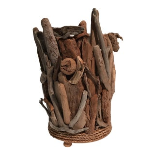 Driftwood Vase or Planter For Sale
