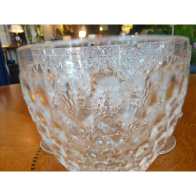 Multi Faceted Crystal Water Goblets - 6 - Image 5 of 7