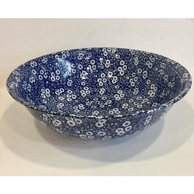 Staffordshire Calico Large Bowl - Image 4 of 5