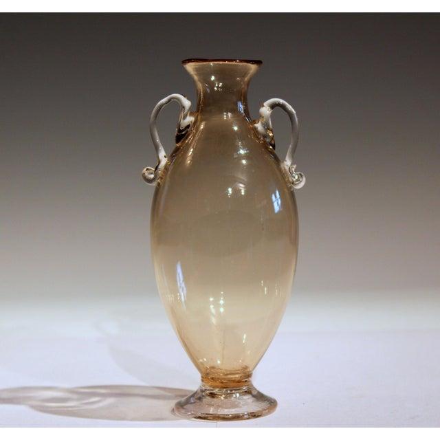 1920s Vittorio Zecchin for Cappellin & Venini Murano Glass Vase For Sale - Image 11 of 11
