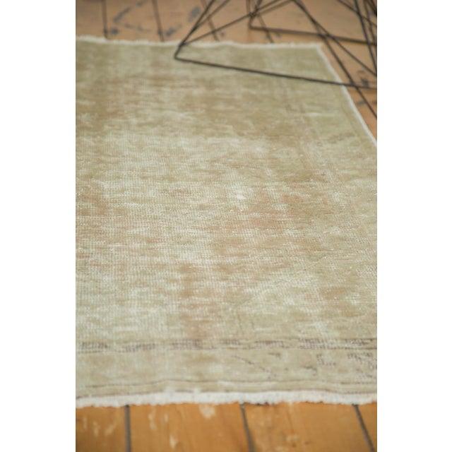 "Vintage Distressed Oushak Rug - 2'9"" x 5'3"" - Image 9 of 10"