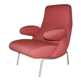 "Carboni for Arflex ""Dolphin"" Lounge Chair, Italy 1950s For Sale"