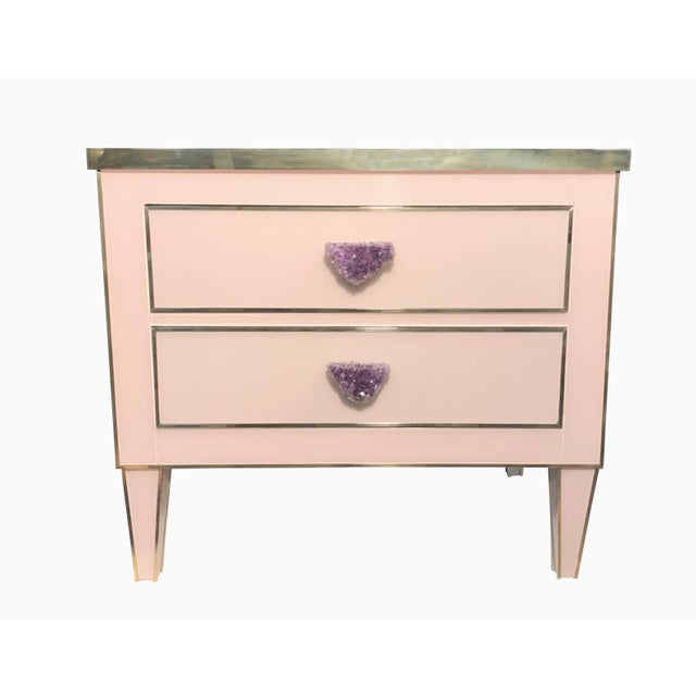 Not Yet Made - Made To Order Lillian Nightstand by MarGian Studio For Sale - Image 5 of 5