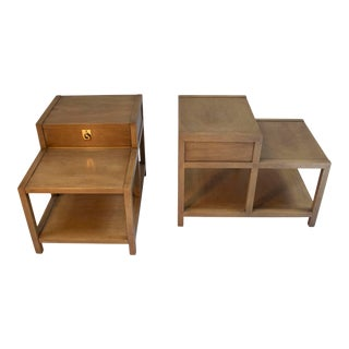 American of Martinsville Mahogany Side Tables - a Pair For Sale