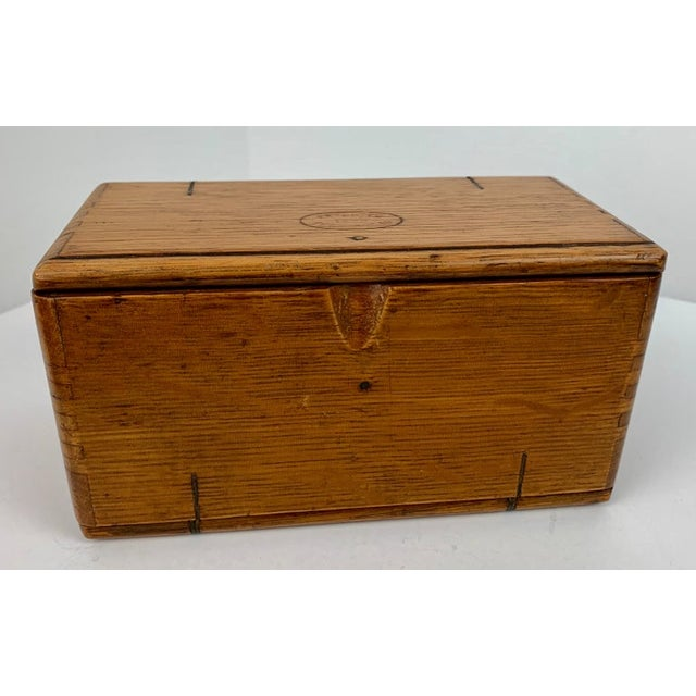 1889 American Puzzle Box For Sale - Image 10 of 12