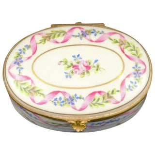 Atelier LeTallec Porcelain Box For Sale