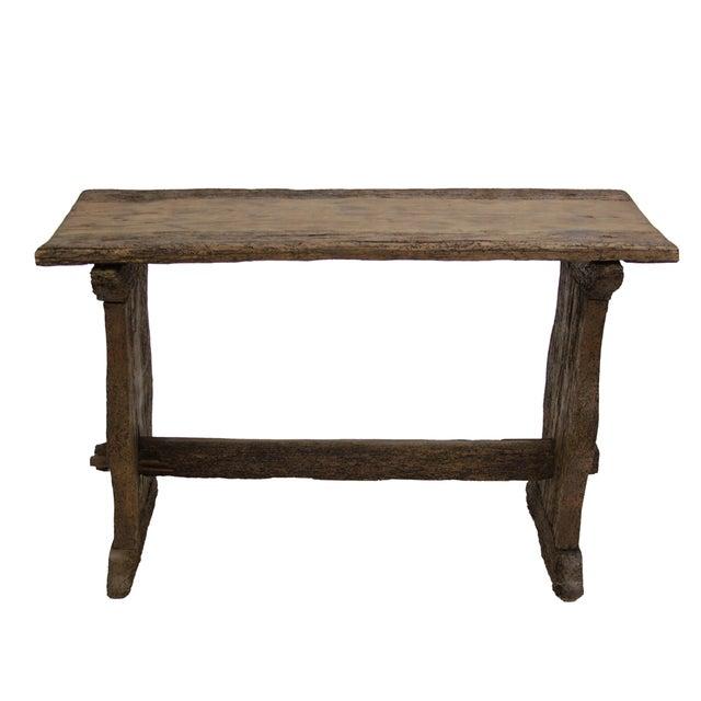 Rustic Hacienda Tavern Table - Image 1 of 3