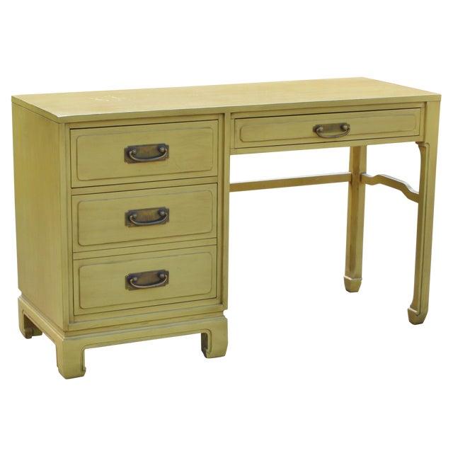 Mid-Century Ming Style Desk Vanity - Image 1 of 11