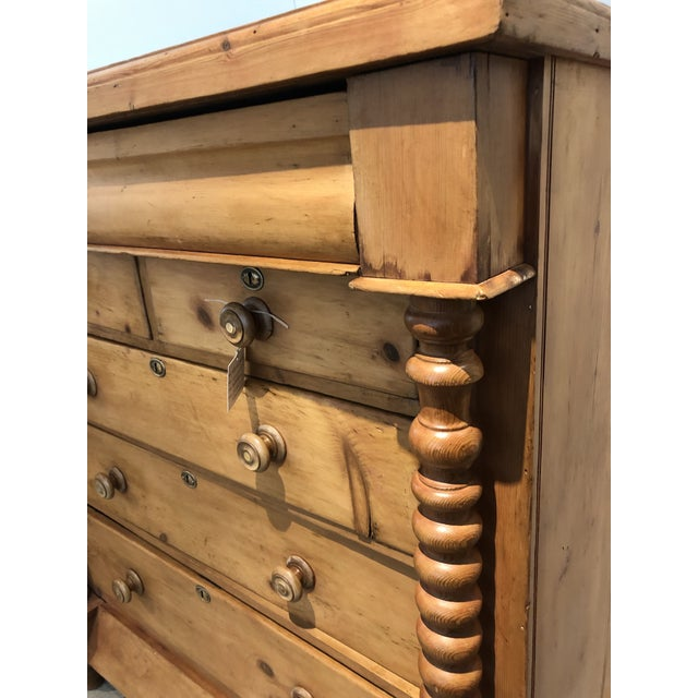 Metal Antique Scottish Chest of Drawers For Sale - Image 7 of 8