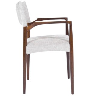 Denmark, 1960s Rosewood Armchair by Aksel Bender Madsen For Sale