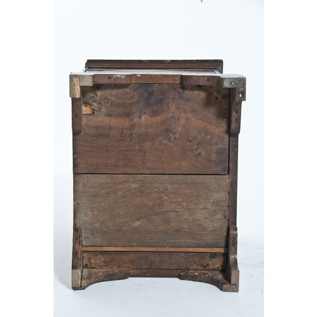 Vintage Oak Trunk For Sale - Image 10 of 10