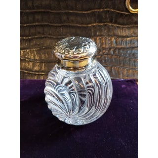 Baccarat Crystal and Silver Inkwell Preview