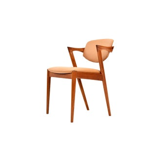 Danish Modern Teak Model 42 Chair by Kai Kristiansen For Sale
