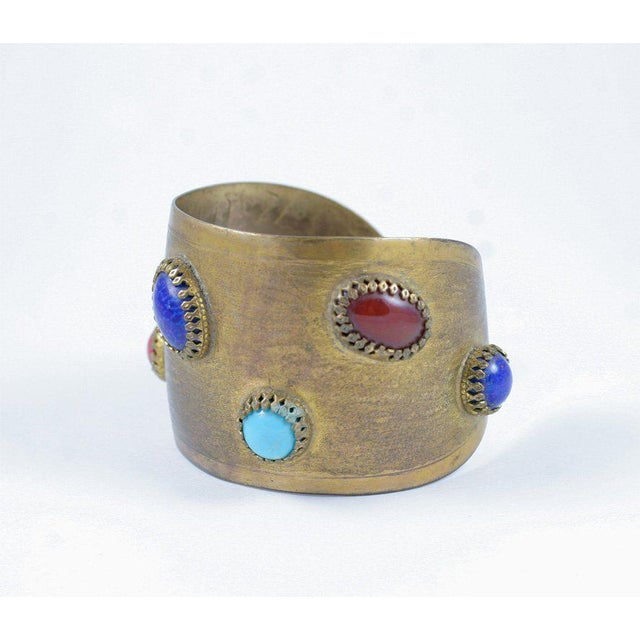 Mid-Century Modern Exotic Cuff For Sale - Image 3 of 9
