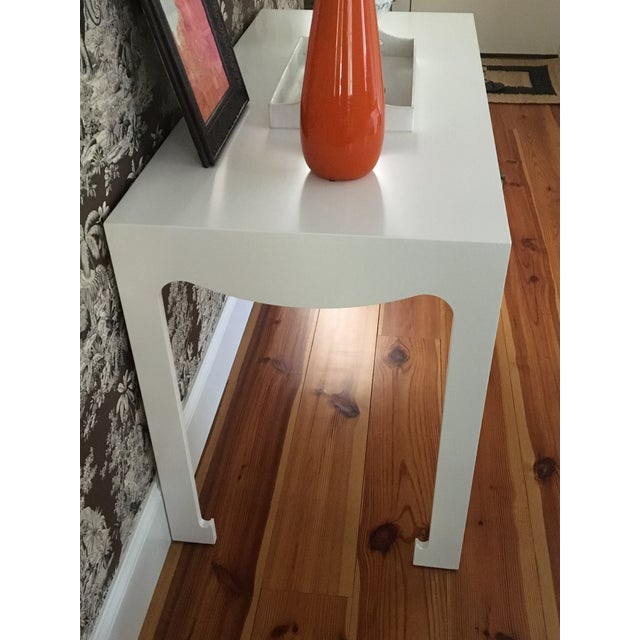 Bungalow 5 Jordan White Console/Desk For Sale In New York - Image 6 of 8