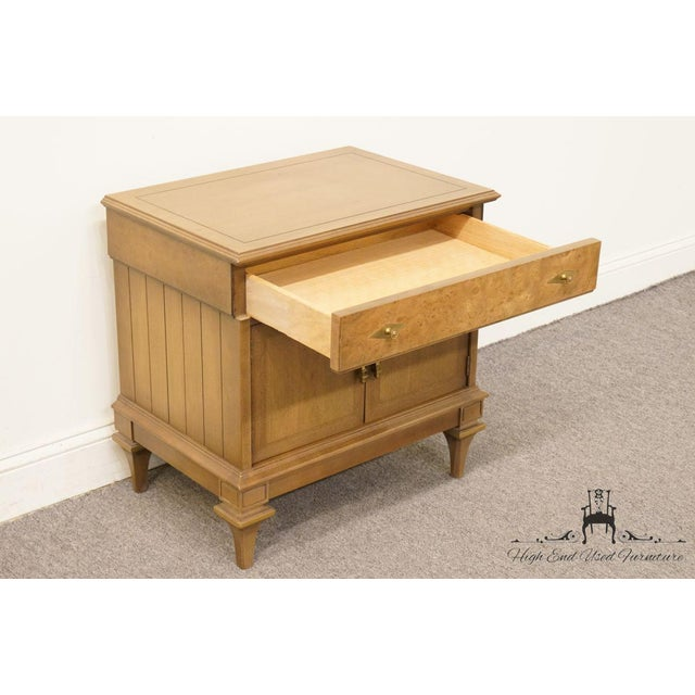 Wood Late 20th Century Vintage American of Martinsville Nightstand For Sale - Image 7 of 12