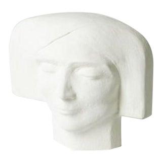 Modern Plaster Female Bust For Sale