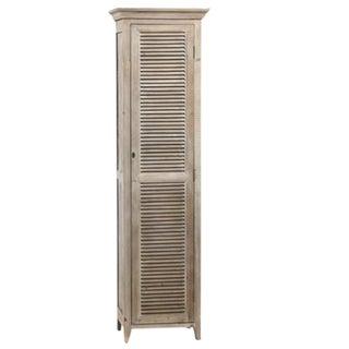 Grey Wash Storage Cabinet