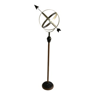 Armillary Sphere on a Tall Base For Sale