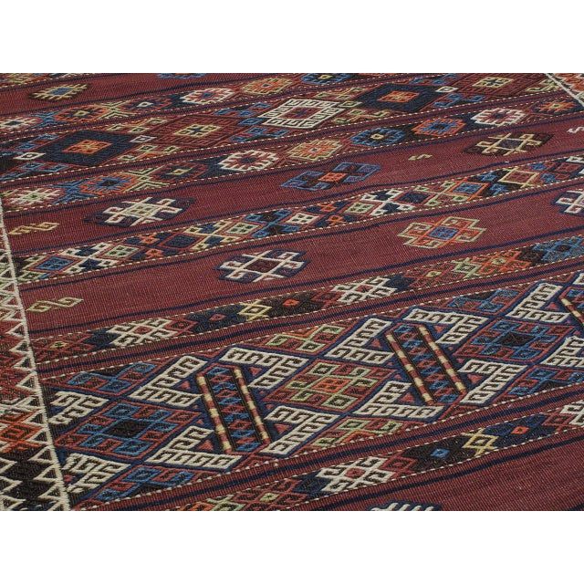 Early 20th Century Kagizman Kilim Runner For Sale - Image 5 of 9