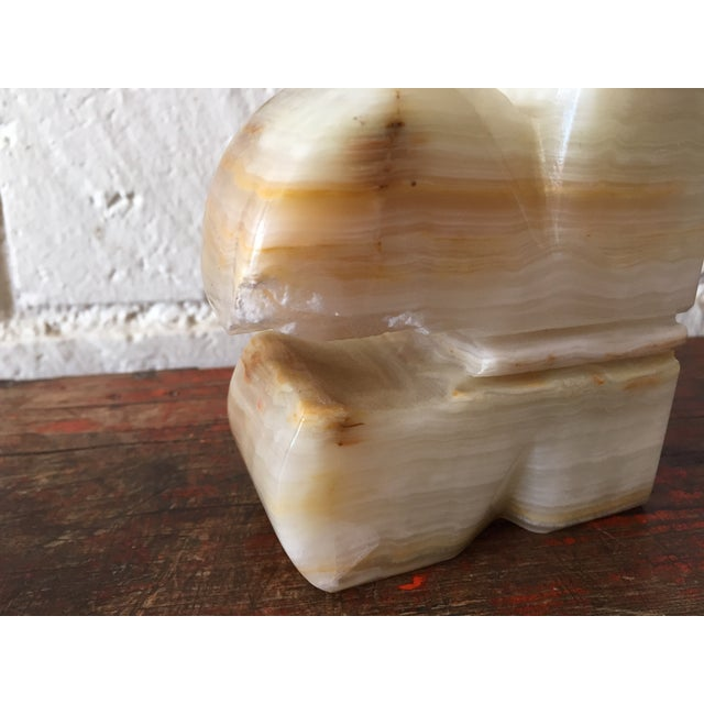 Carved Onyx Bookends - A Pair - Image 7 of 7