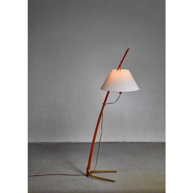 Kalmar Kalmar Dornstab Floor Lamp, Austria, 1940s For Sale - Image 4 of 6