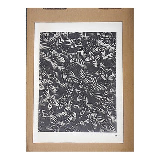 Vintage Botanical Photogravures by Karl Blossfeldt-Extreme Close-Up C.1942-Printed One Side Only For Sale