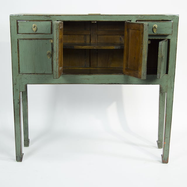 Green Lacquer Console - Image 2 of 2