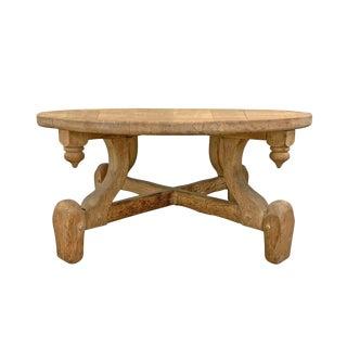 Swedish Modern Oak Low Table For Sale