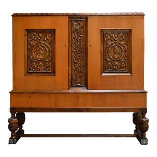 Swedish Neoclassical Storage Cabinet For Sale