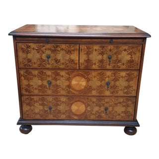 Traditional Century Furniture Monarch William and Mary Wooden Chest of Drawers