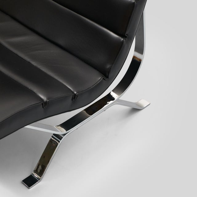 Black George Nelson Lounge Chair for Herman Miller For Sale - Image 8 of 9