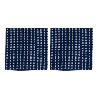 Nisha Napkins, Indigo - A Pair For Sale