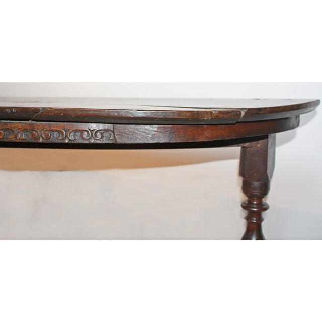 Large 17th c. Walnut Console Tables For Sale - Image 9 of 11