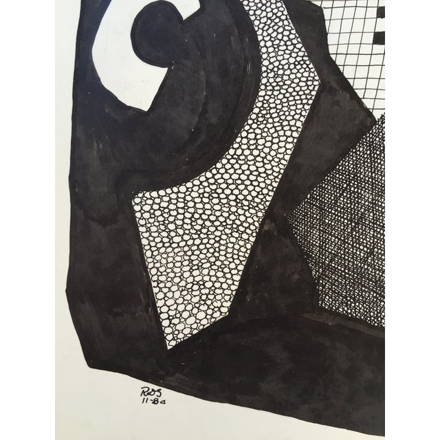 Abstract Pen and Ink Drawing by R. D. Stokes - Image 2 of 2