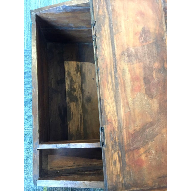 Antique Child's School Desk Box For Sale - Image 5 of 7