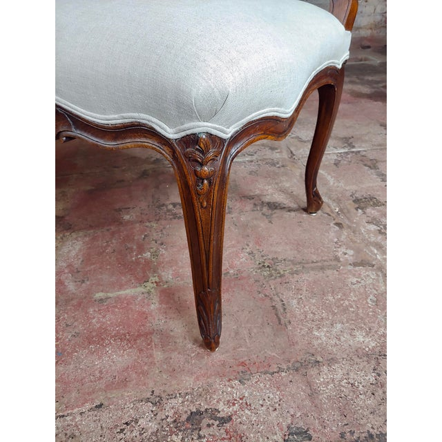 1920s French Provincial Country Style Oversized Dining Chairs - Set of 4 For Sale - Image 5 of 10