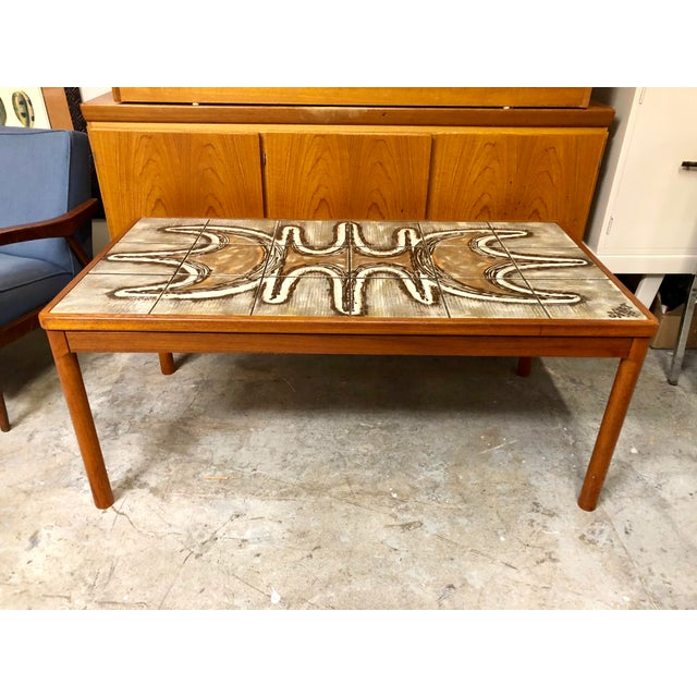 White 1977 Danish Modern Trioh Ox Art Coffee Table For Sale - Image 8 of 8