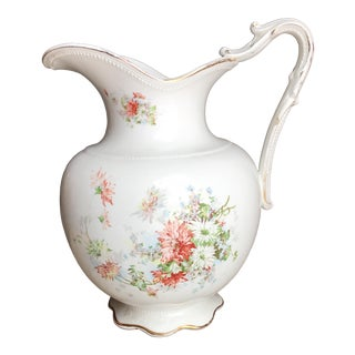 Vintage Flower Vase Pitcher